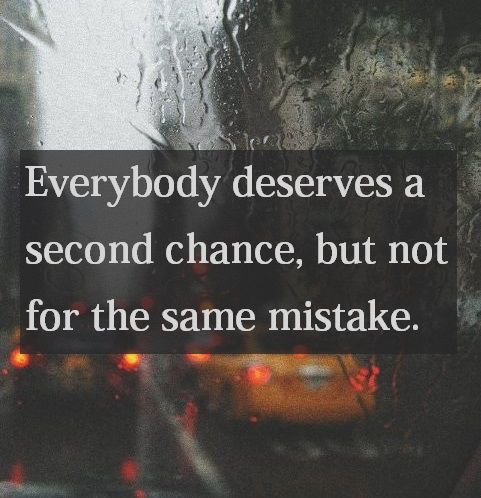 Everybody Deserves A Second Chance Pictures, Photos, and Images for ...