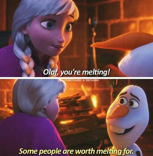 Some People Are Worth Melting For Cover Photo | www ...