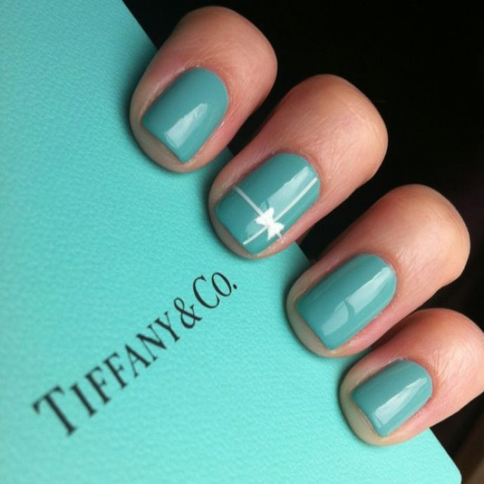 Tiffany Blue Gel Nail Polish: Tiffany & Company Nails Pictures, Photos, And Images For