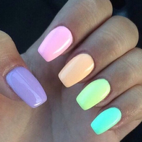 Colorful Pastel Nails Pictures, Photos, and Images for ...