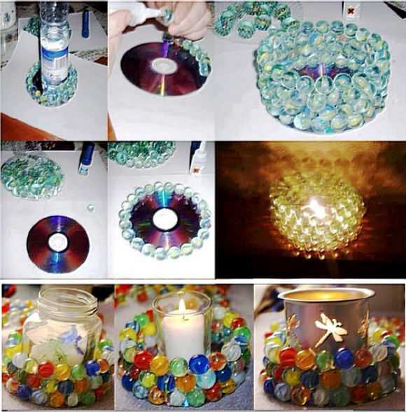 Diy Marbles Candle Pictures Photos And Images For
