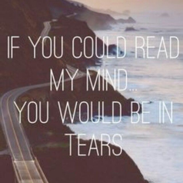 if i could read my mind: