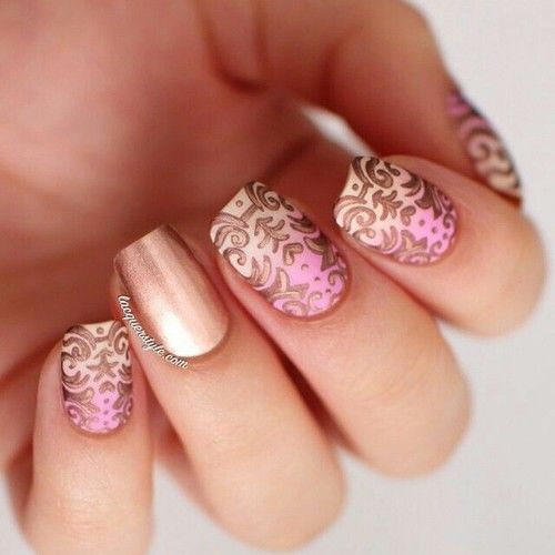 Fancy Designed Nails Pictures Photos And Images For Facebook