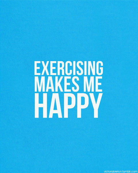 You Make Me Happy Quotes Tumblr: Exercise Makes Me Happy Pictures, Photos, And Images For