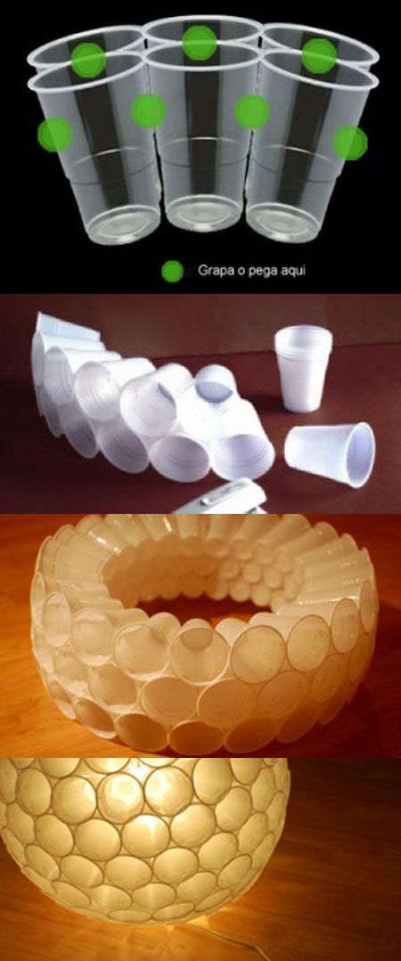 Diy Cup Lamp Pictures Photos And Images For Facebook