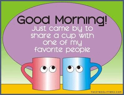 Good Morning Sharing A Cup Of Coffee With You Pictures