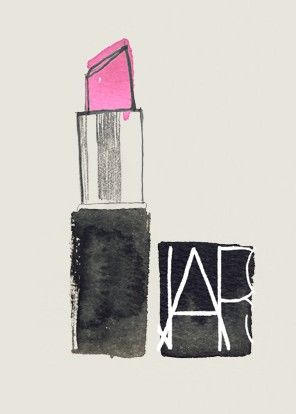 Nars Pink Lipstick Drawing Pictures Photos And Images