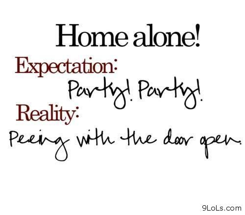 Funny Home Alone Quotes: Home Alone Expectations Vs Reality Pictures, Photos, And