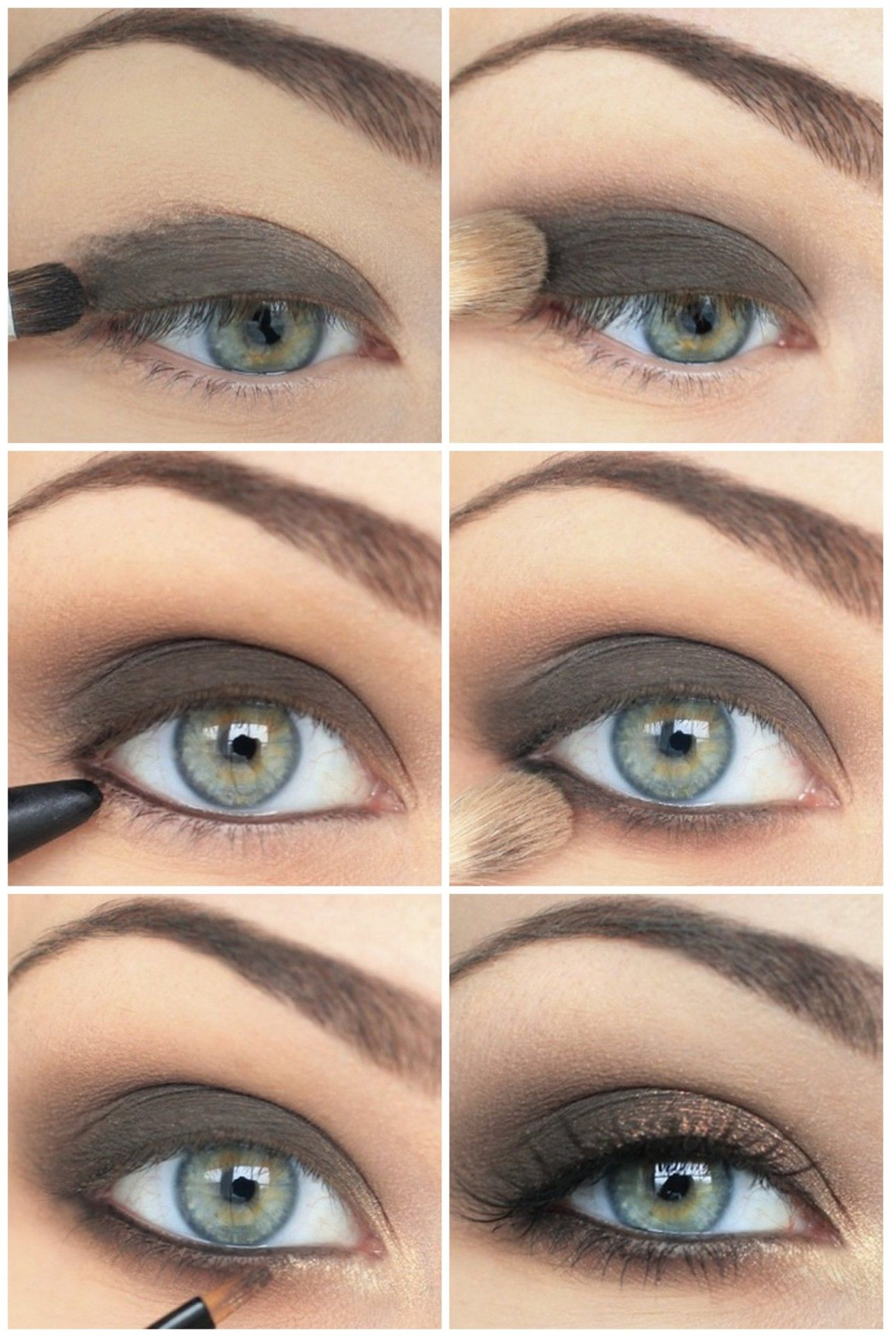 diy clean smokey eye makeup pictures, photos, and images for