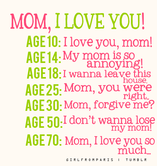 I Love You Mom Quotes From Daughter Tumblr : Mom I Love You Pictures, Photos, and Images for Facebook, Tumblr ...