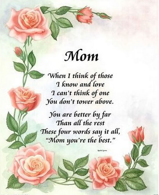 Mom When I Think Of You Pictures Photos And Images For Facebook