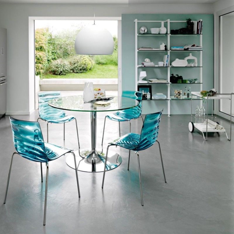 Acrylic Chair With Modern Glass Top Coffee Table Pictures Photos And