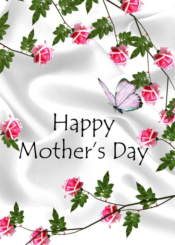 happy mothers day flowers and butterflies pictures, photos, and, Natural flower