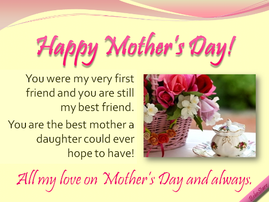 Happy Mother Day To My Best Friend Quotes Happy Mothers Day, All My Love On Mothers Day And Always Pictures  Happy Mother Day To My Best Friend Quotes