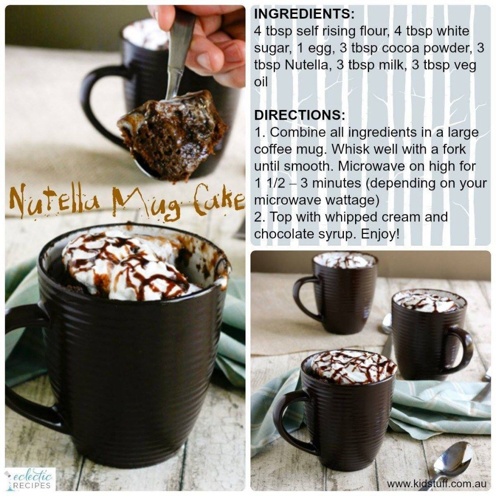 Nutella Mug Cake Pictures Photos And Images For Facebook