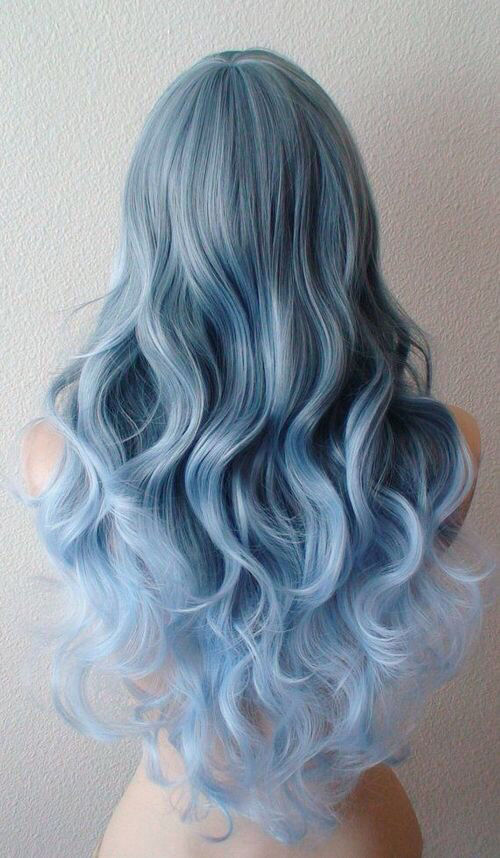 Curly Blue Hair Pictures Photos And Images For Facebook Tumblr