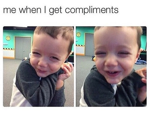 Когда хотят сделать женщине комплимент