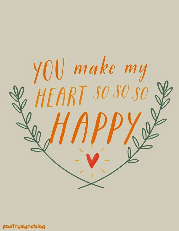 You Make My Heart So So So Happy Pictures, Photos, and ...