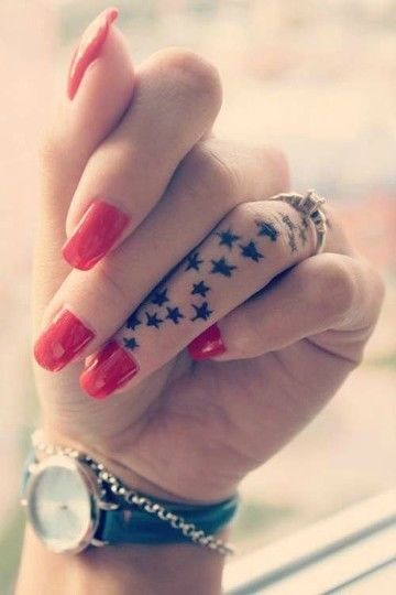 Star Finger Tattoo Pictures, Photos, And Images For