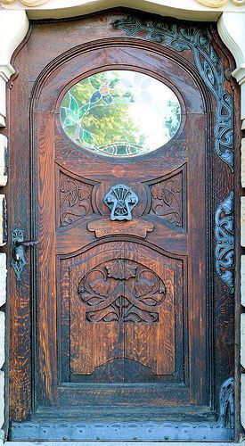 German Art Nouveau Door Pictures Photos And Images For