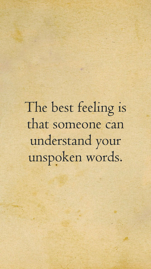 Understand Unspoken Words Pictures Photos And Images For