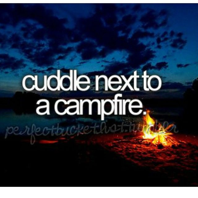 Cuddle Next To A Campfire Pictures Photos And Images For