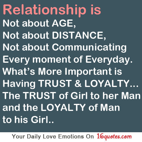 Relationships Are About Trust And Loyalty Pictures, Photos, and