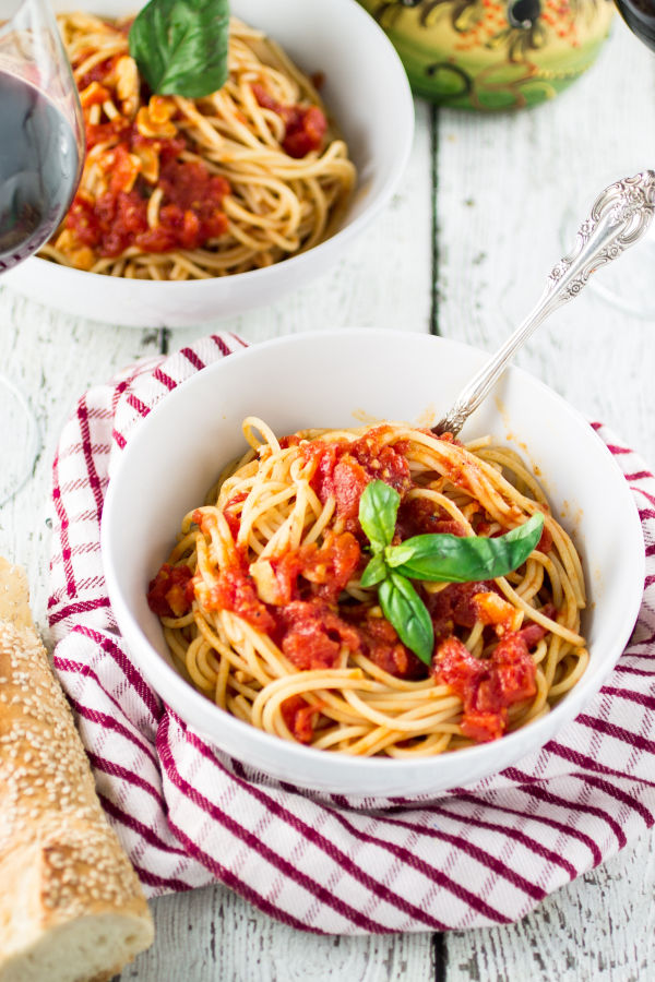 Spaghetti With Marinara Sauce Pictures, Photos, and Images for ...