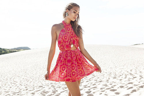 Red Summer Dress Pictures Photos and Images for Facebook Tumblr ...