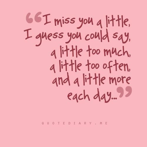 I Love You And Miss U Quotes: I Miss You A Little Too Much Pictures, Photos, And Images