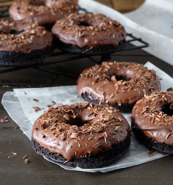 Triple Chocolate Cake Doughnuts Pictures, Photos, and Images for ...