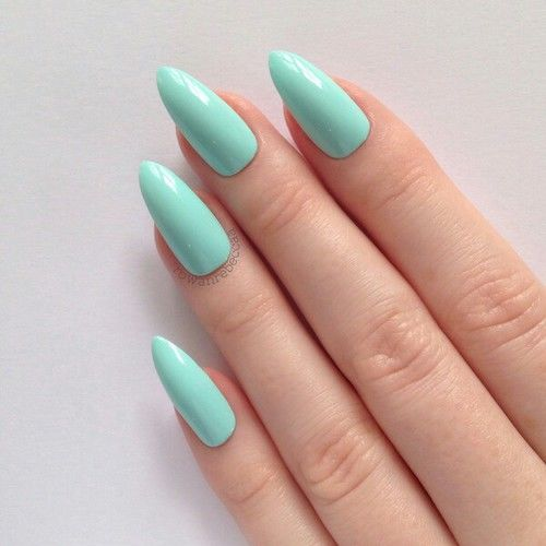 Turquoise Stiletto Nail Art: Teal Stiletto Nails Pictures, Photos, And Images For