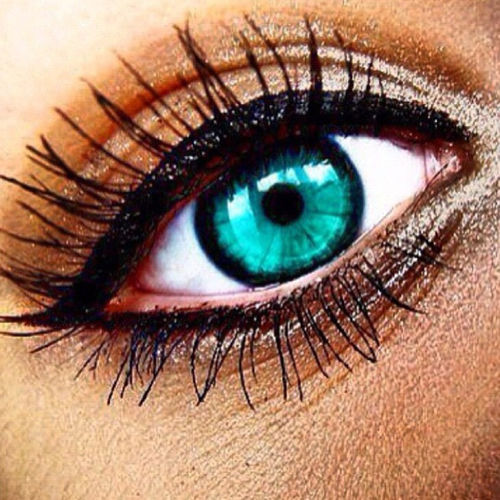 Beautiful Teal Eyes With Eyeshadow Pictures Photos And
