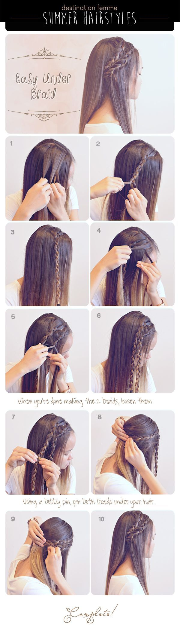 Summer Braid Hairstyle For