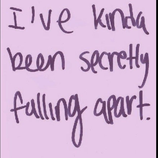 Falling Apart Quotes Tumblr: Falling Apart Pictures, Photos, And Images For Facebook