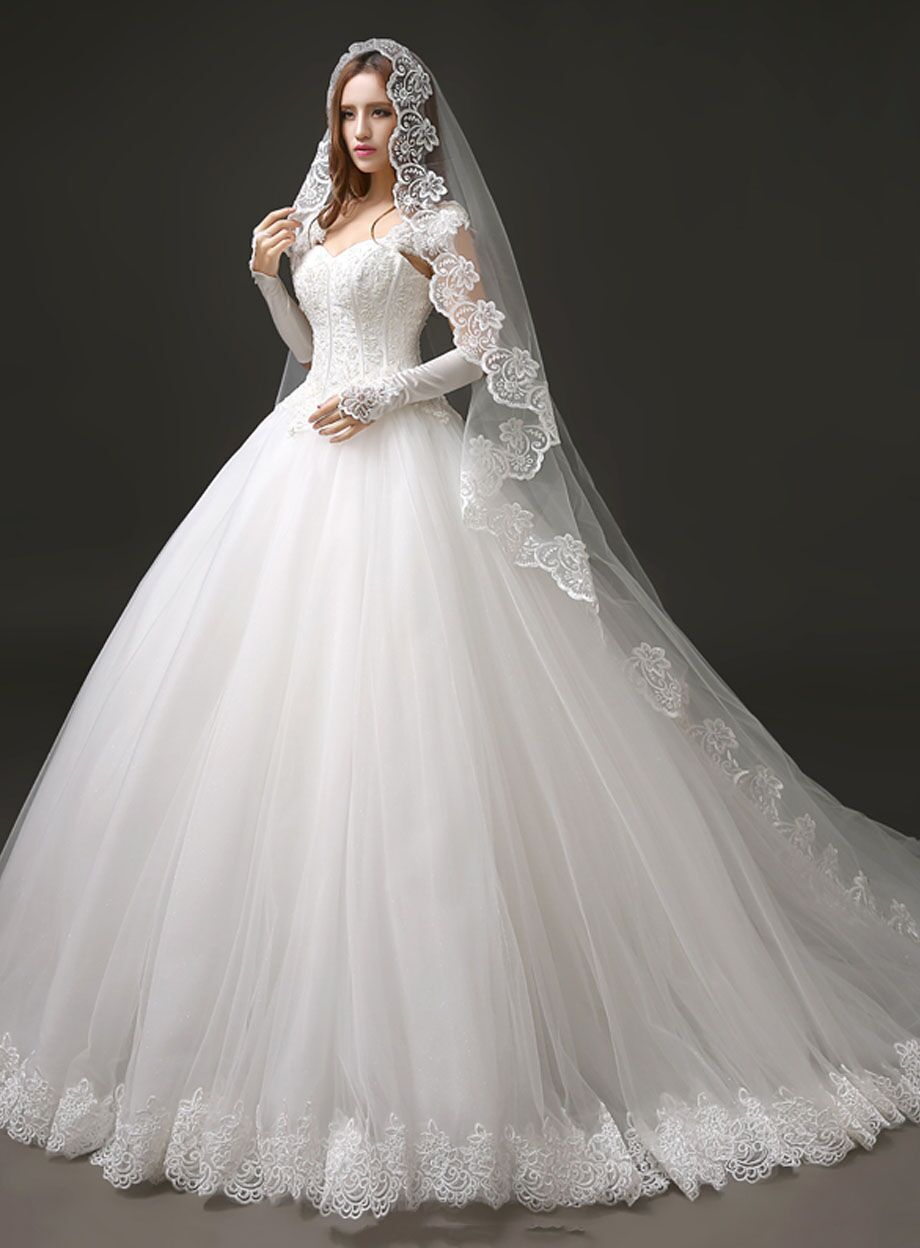 Wedding Gowns With Sleeves Images 68