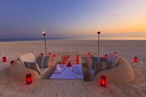 Romantic Beach Dinner Pictures Photos And Images For Facebook
