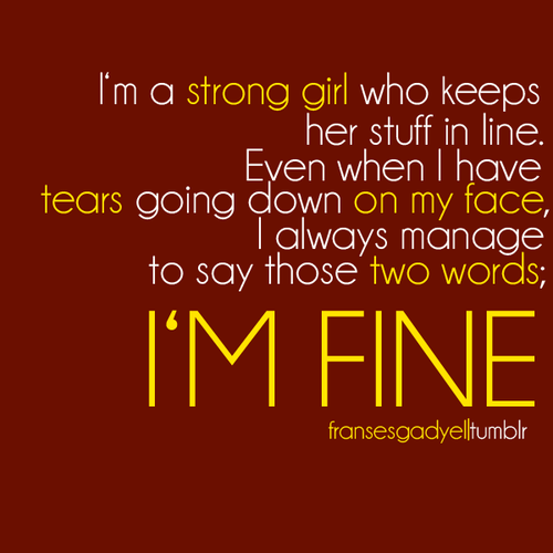 Im Fine Pictures, Photos, and Images for Facebook, Tumblr ...