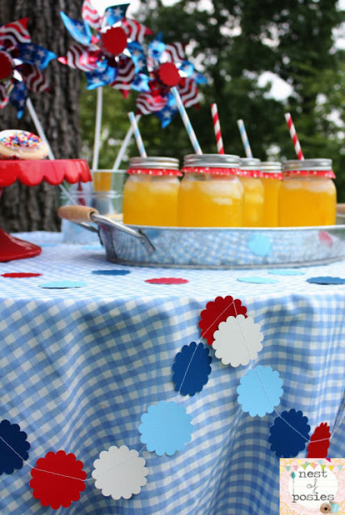 Diy Easy July 4th Table Decor Pictures Photos And Images