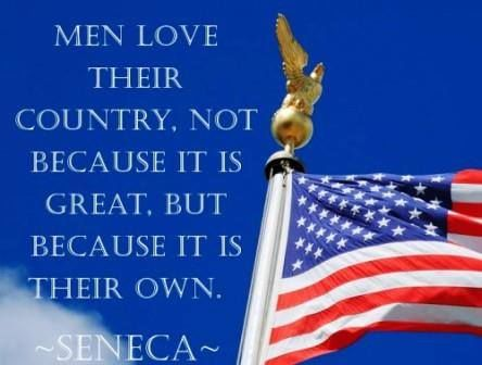 love for our country