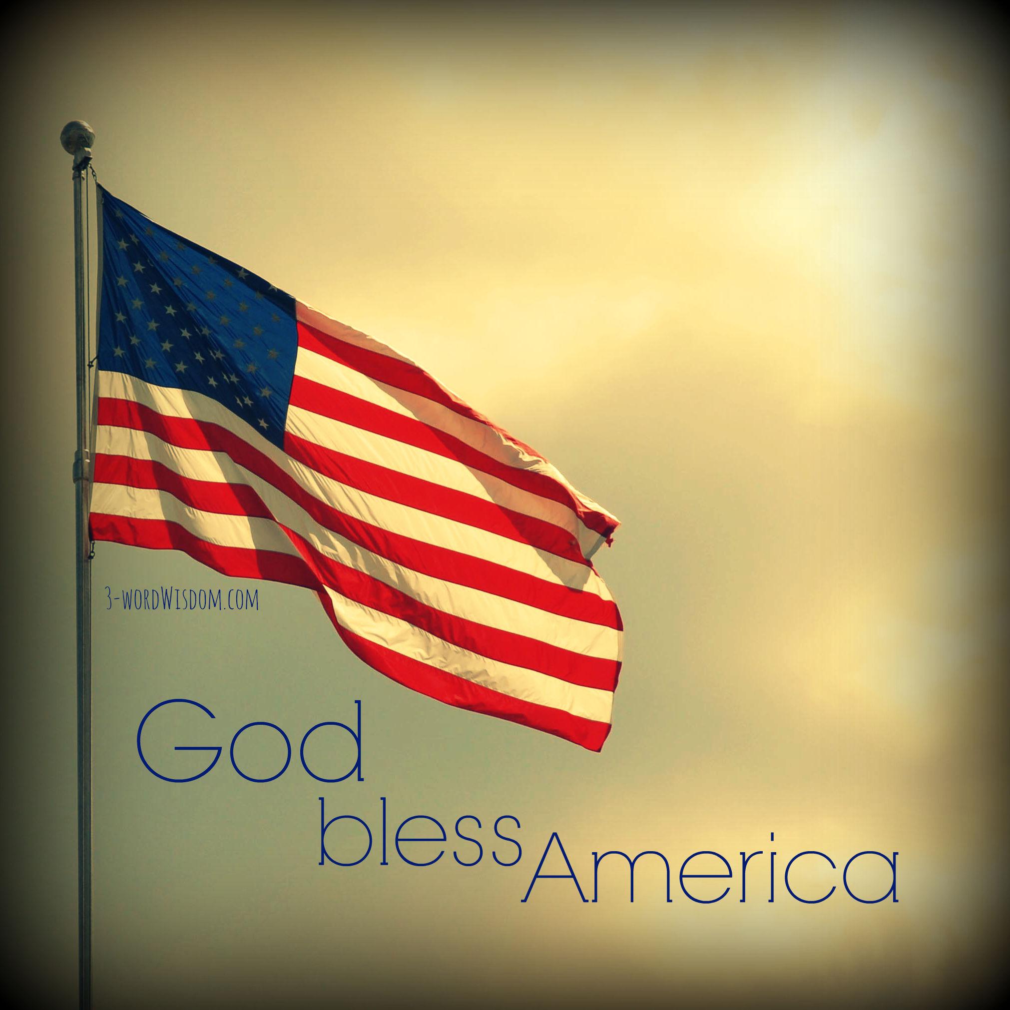 Good Morning God Bless You God Bless America Pict...