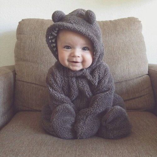 Cute Baby Bear Costume Photos