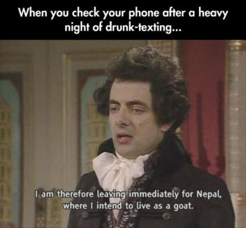 175138 When You Check Your Phone After A Heavy Night Of Drunk Texting when you check your phone after a heavy night of drunk texting