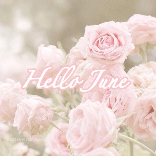 Hello June Girly Image