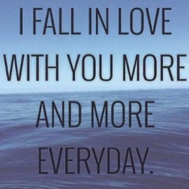 I Fall In Love With You More Each Day