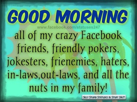 Morning Quotes For Friends And Family Good Morning Facebook ...