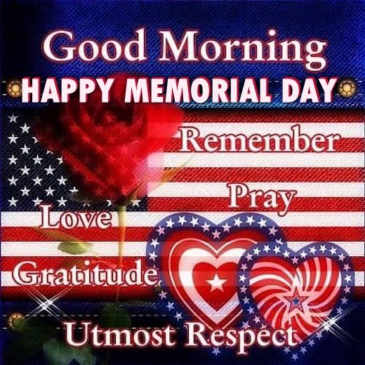 good morning happy memorial day pictures photos and