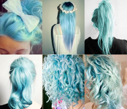 Fabulous Pretty Blue Hairstyles Pictures Photos And Images For Facebook Short Hairstyles For Black Women Fulllsitofus
