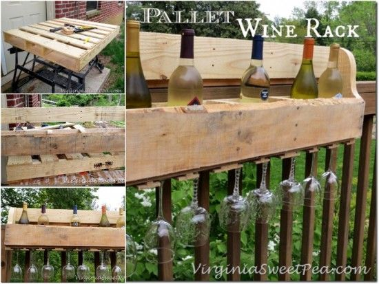 DIY Pallet Wine Rack Pictures, Photos, and Images for ...