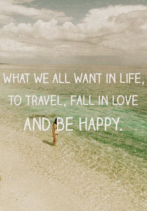 Travel, Fall In Love And Be Happy Pictures, Photos, and ...